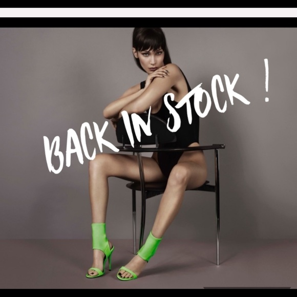 Giuseppe Zanotti Shoes - *back in stock!! giuseppe zanotti • NEW • neon